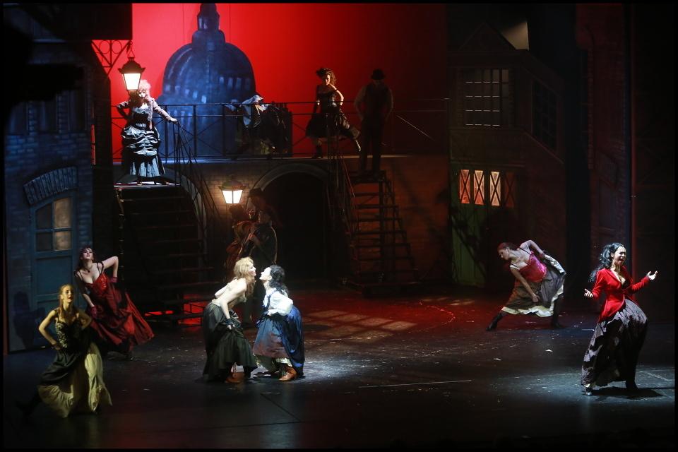 Legendární vrah řádí v divadle Hybernia. Je Přízrak Londýna tím správným krimimuzikálem?