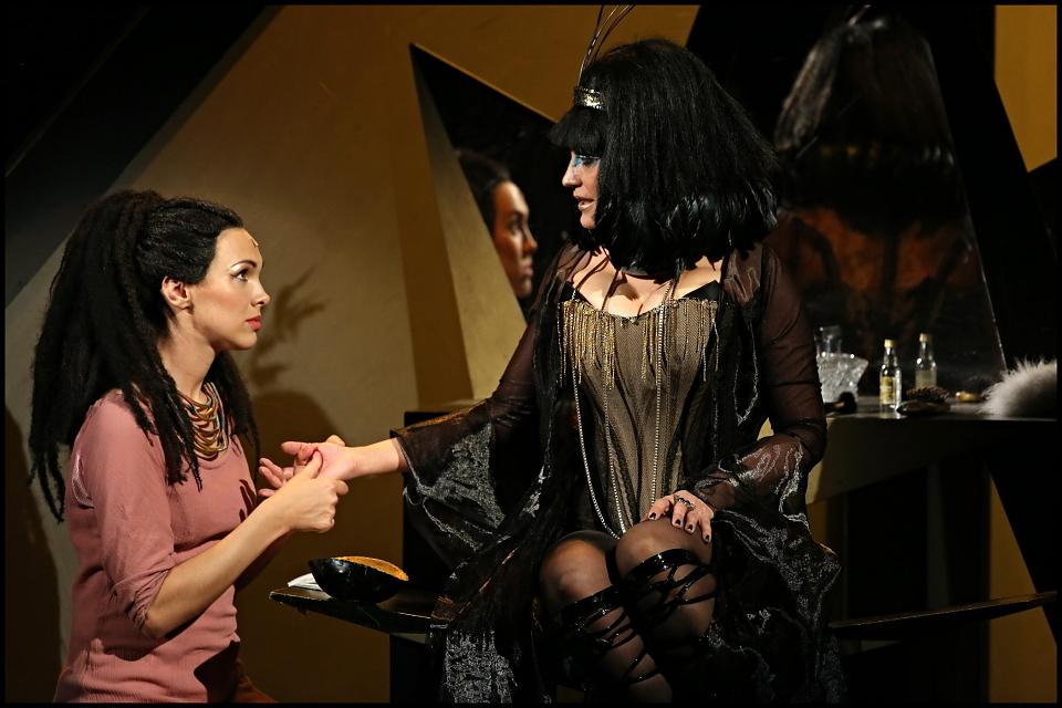 Aida a její poslední představení v Hudebním divadle Karlín