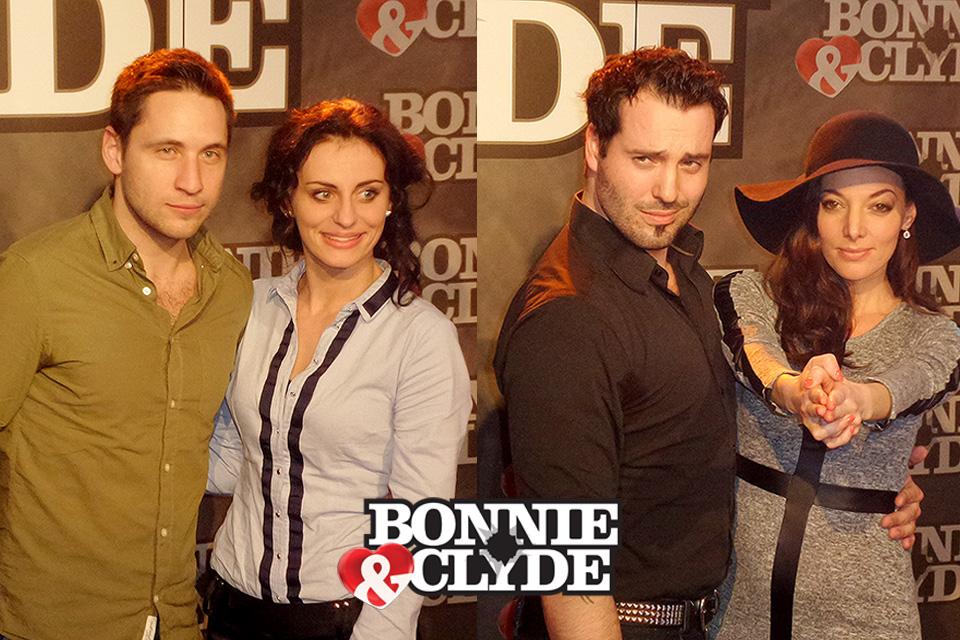 BONNIE & CLYDE v Hudebním divadle Karlín mají své tváře