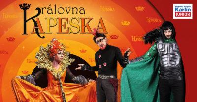 KRÁLOVNA KAPESKA přechází do Hudebního divadla Karlín