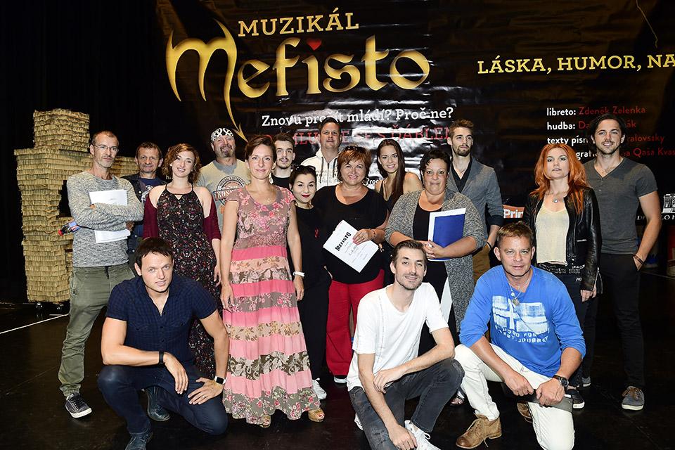 Muzikál MEFISTO má za sebou první zkoušku (fotoreportáž)