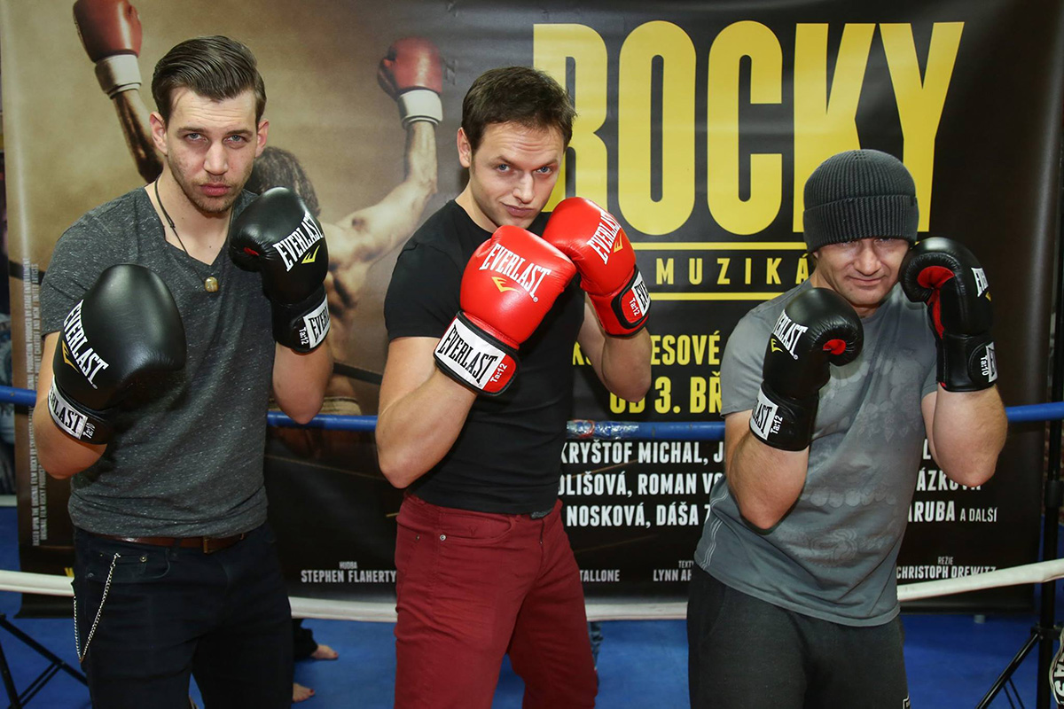 Muzikál ROCKY se poprvé představil v ringu (+ obsazení)