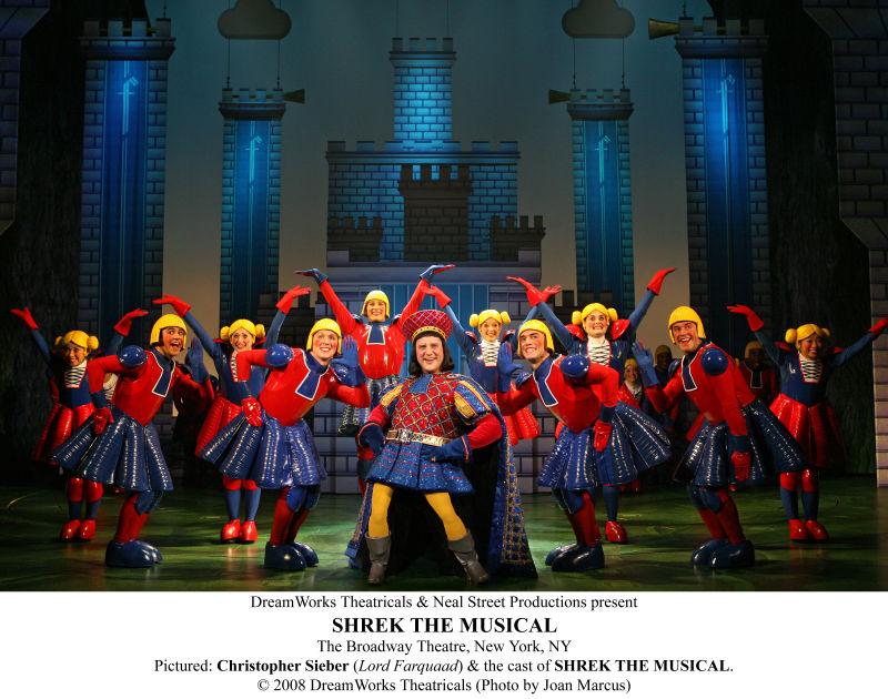 """""""Shrek The Musical"""" aneb úspěšný převod ze stříbrného plátna na jeviště"""