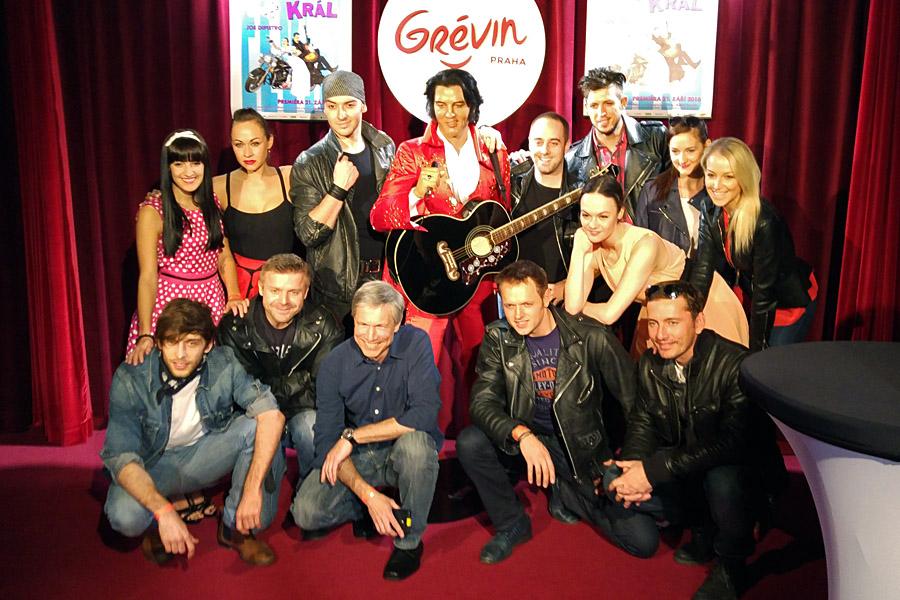 Srdcový král rozezní Divadlo Kalich energickým rock'n'rollem Elvise Presleyho