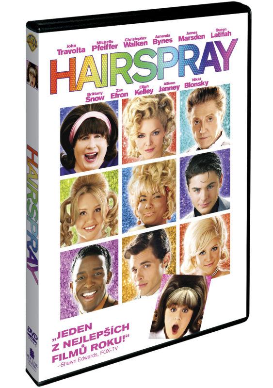 """""""Hairspray"""" – recenze DVD"""