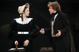 Cosette - Marta Prokopová a Marius - Jakub Uličník