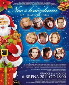 """Tradiční benefice """"Noc s hvězdami"""" na hradě Houska bude v srpnu slavit Váno"""