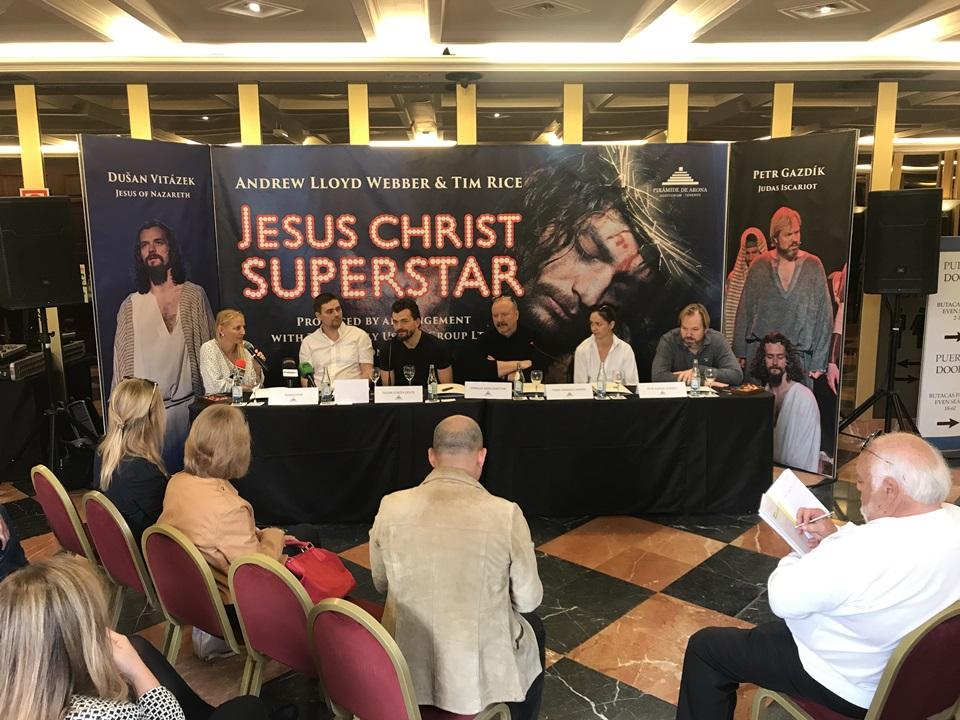 Tisková konference - Jesus 2019