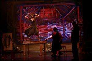 Muzikál Mata Hari Divadlo Broadway Kateřina Brožová Alžbeta Bartošová Marek Vašut