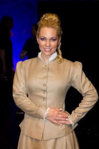 Michaela Nosková v cudném kostýmu