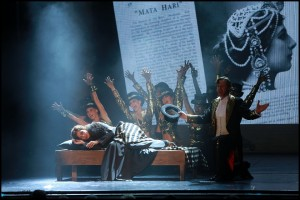 Muzikál Mata Hari Divadlo Broadway Kateřina Brožová Jiří Langmajer