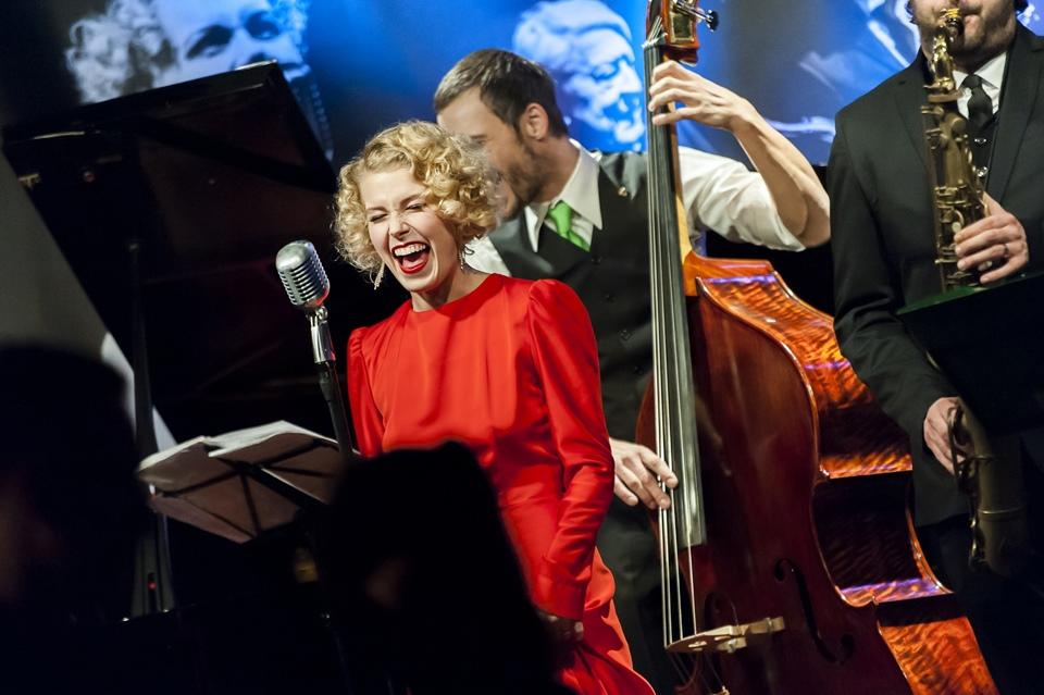 S kapelou Her Swing Boys (Foto: Besim Mehinbašić) Kateřina Steinerová