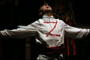 Muzikál Zorro Divadlo Hybernia Roman Vojtek