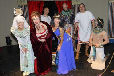 Velikonoční hodovačka na muzikálové Kleopatře