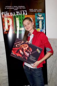 Autorka fotografií kalendáře Kristýna Junková