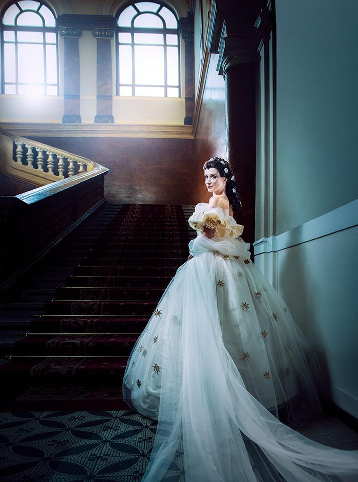 Oficiální vizuál (foto Martina Root) Elisabeth muzikal musical djkt plzeň