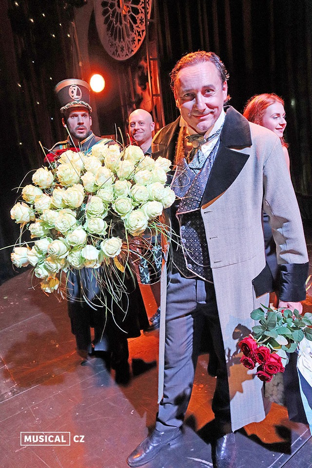 Marian Vojtko Muzikál Čarodějka (Wicked) Goja Music Hall premiéra