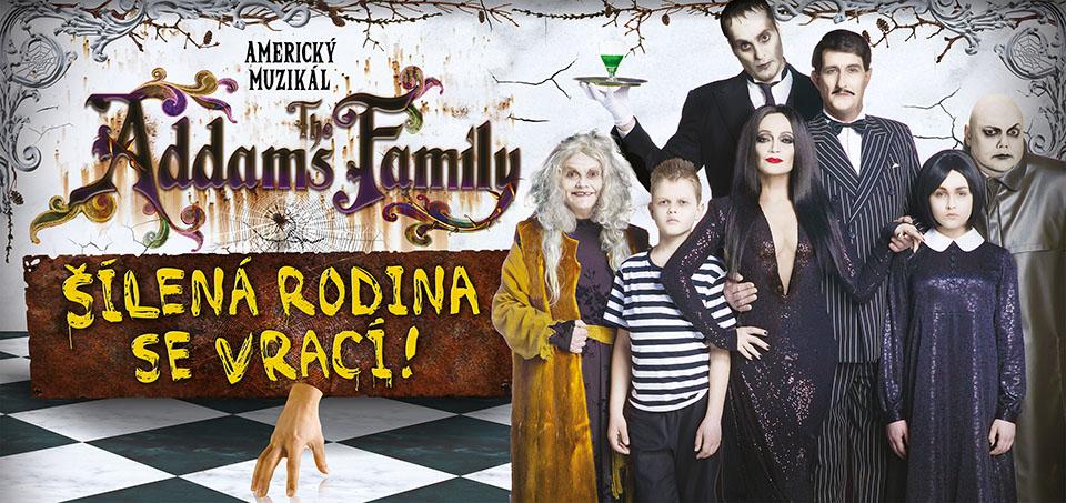 Addams Family Hudební divadlo Karlín