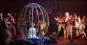 Muzikál Antoinetta královna Francie Divadlo Hybernia Michal Novotný Monika Absolonová Dušan Kollár