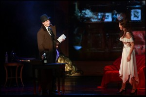Muzikál Mata Hari Divadlo Broadway Radim Schwab Kateřina Brožová