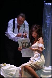 Muzikál Mata Hari Divadlo Broadway Ladislav Frej Kateřina Brožová