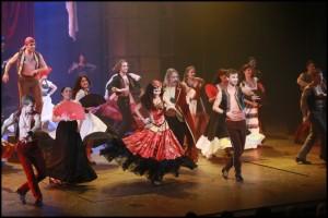 Muzikál Zorro Divadlo Hybernia Monika Absolonová Marek Holý