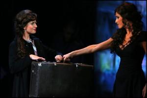 Muzikál Mata Hari Divadlo Broadway Alžbeta Bartošová Kateřina Brožová