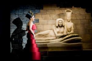Princeznu Amneris v muzikálu Aida hraje bez alternace Lucie Bílá
