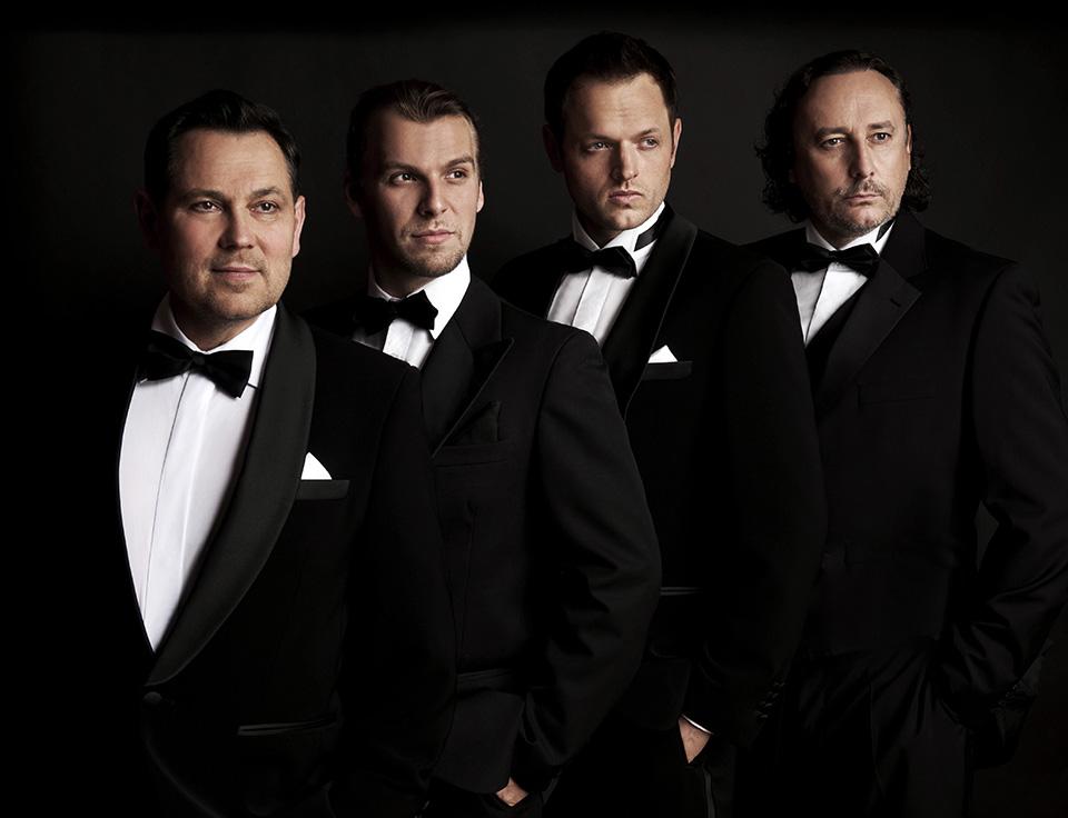 4 Tenoři - Pavel Vítek, Michal Bragagnolo, Jan Kříž, Marian Vojtko (foto Lenka Hatašová)