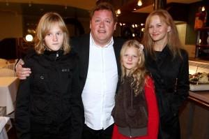Václav Kopta s rodinou