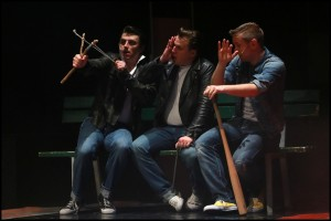 muzikál Pomáda Divadlo Kalich Zlatá deska
