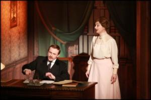 Pan Banks se svou ženou Winifred