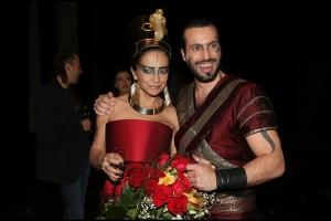 Aida muzikál Hudební divadlo Karlín HdK 100. představení repríza Lucie Bílá Václav Noid Bárta