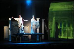 muzikál Kleopatra Divadlo Broadway Tomáš Trapl Zdenka Trvalcová