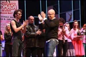 Na jeviště přišel také ředitel Divadla Kalich Michal Kocourek