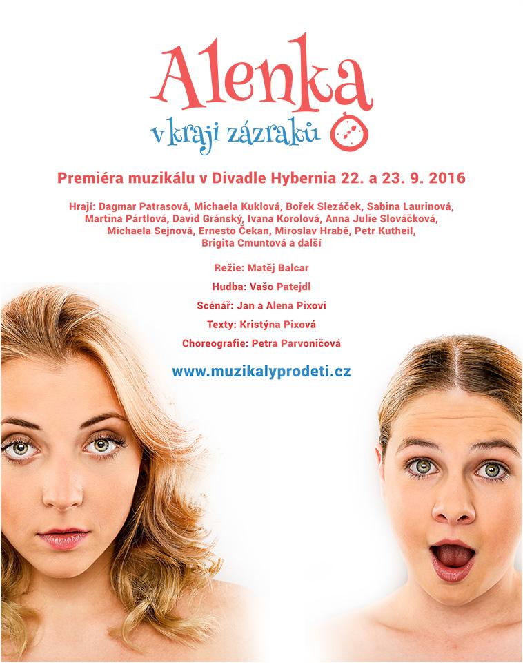 Plakát - Alenka v kraji zázraků