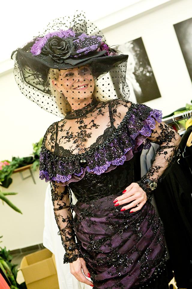 Chantal Poullain jako hraběnka Thunová
