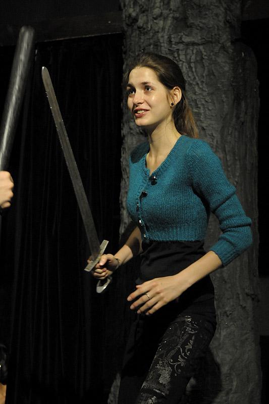 """Exkluzivní fotografie ze zkoušek muzikálu """"Robin Hood"""""""