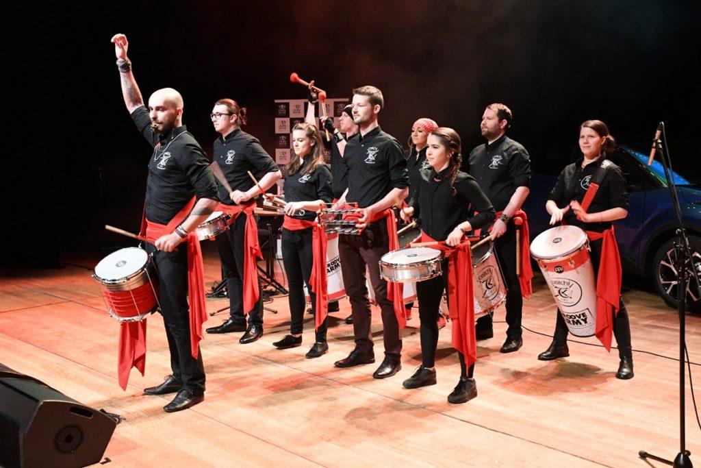 Bubenická show Tokhi & the Groove Army