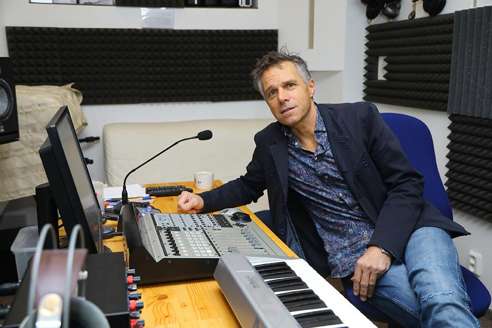 Janek Ledecký ve studiu