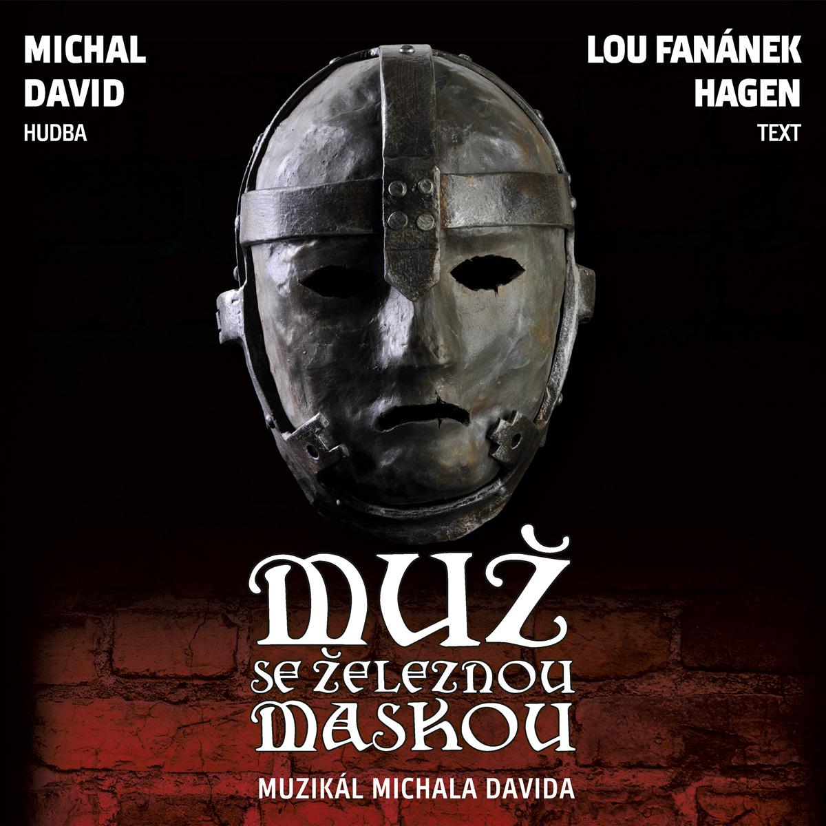 CD muzikál Muž se železnou maskou Divadlo Broadway