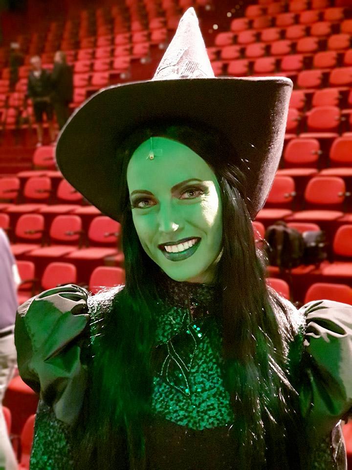 Markéta Pešková Čarodejka muzikál Wicked GoJa