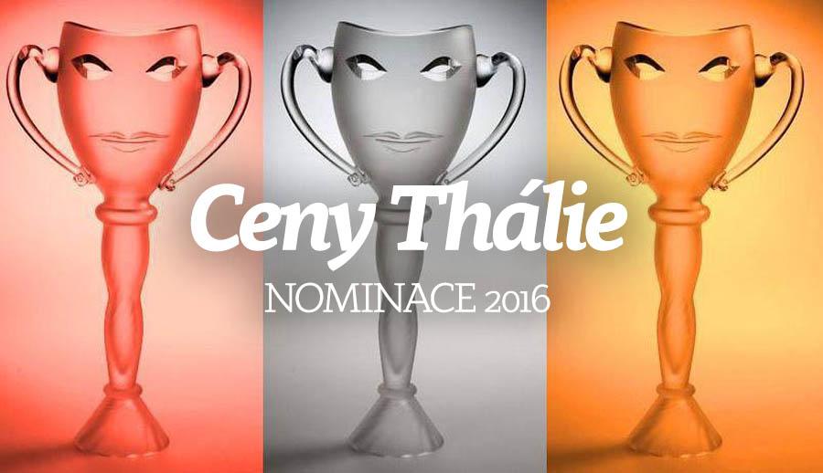 Nominace na Ceny Thálie 2016