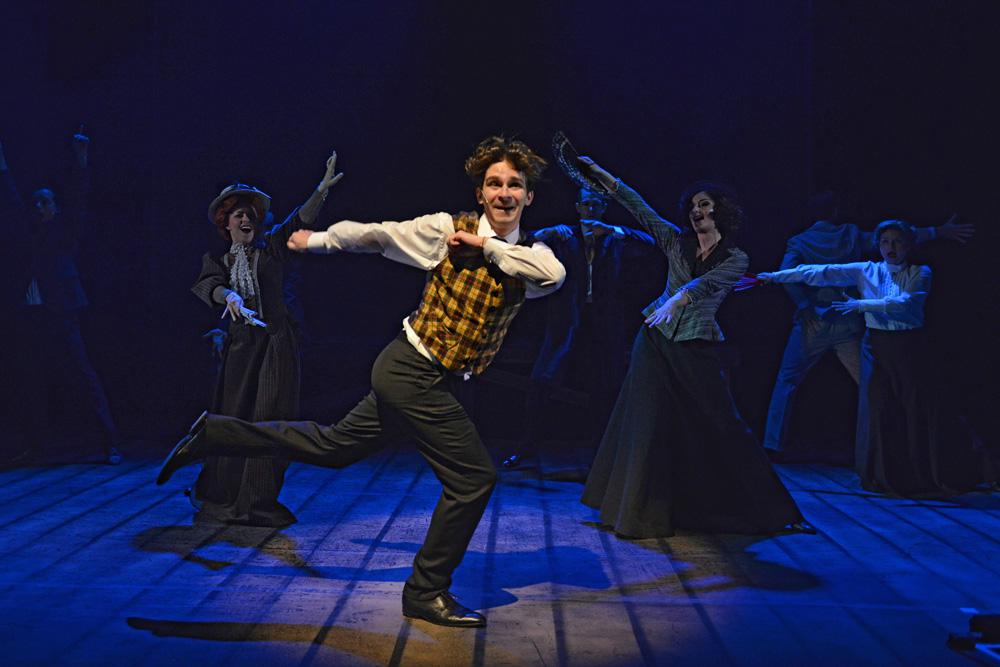 Daniel Rymeš v muzikálu Chaplin