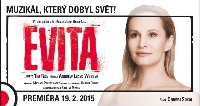 Evita se vrací zpět do Prahy, Evu Perón si zahraje Monika Absolonová