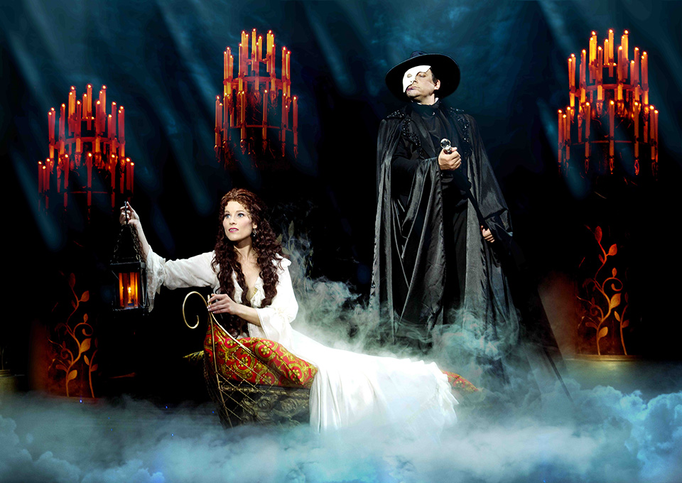 Michaela Gemrotová a Marian Vojtko Fantom opery