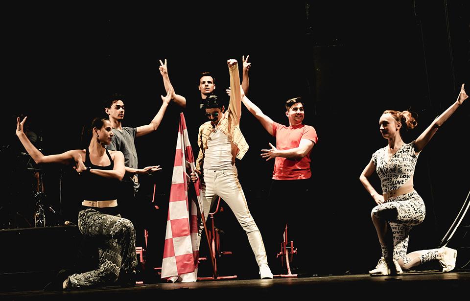 Freddie - Concert show Freddie Divadlo Radka Brzobohatého Roman Tomeš