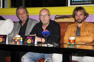 Adam Novák, Michal Kocourek a Ján Ďurovčík