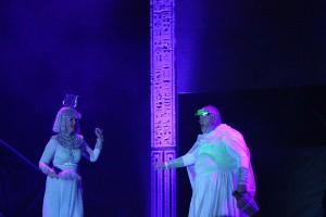 muzikál Kleopatra Divadlo Broadway Pezinok Linda Finková Jan Kuželka