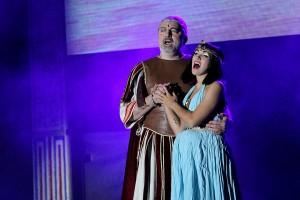muzikál Kleopatra Divadlo Broadway Pezinok Daniel Hůlka Kamila Nývltová